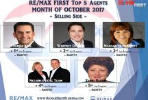 REMAX FIRST TOP 5 AGENTS SELLING SIDE