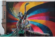 art - street art / by Yelena Shabrova