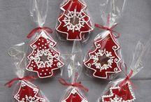 Christmas cookies/biscuits
