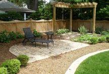 DIY Backyard / DIY Backyard improvements