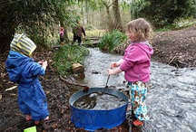 Outdoor play in ECE / Outdoor play, forest kindergartens, all-weather play, etc. Your outdoor area is just as important for learning as indoors - maybe more so! / by Alec @ Child's Play Music