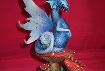 Leyenda de Dragones / Figuras de Dragones especiales y mágicos.