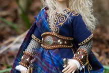 Olwen -- Kingsword / inspiration/mood board for costume for Olwen, daughter of the giant Ysbaddaden, Pictish princess and most badass warrior.  Picts, Celts, fantasy, warrior, princess, Arthur, tartan