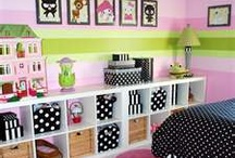 Kids new bedrooms / by Crystal Weissend