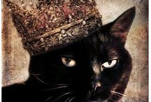 Cats with crowns
