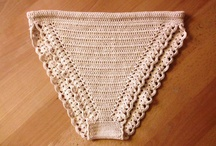 Lingerie a crochet