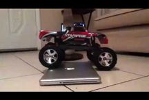 Rc truck traxxas stampede / Cars and trucks controlled by radio rc