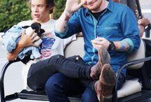 Harry and Ed / Harry Styles and Ed Sheeran <3