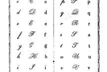 Kaligrafia / Nauka kaligrafii i wszystko co się z pisaniem wiąże.