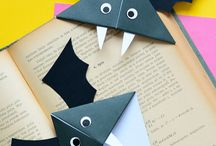Halloween Crafts for Kids / Easy and fun halloween crafts for kids perfect for toddlers and preschool up to teens! Bats, witches, spiders and loads more fun diy inspiration.