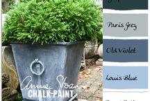 colour combos with Annie slo / colour combos with Annie sloane paint