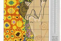 X-stitch Klimt