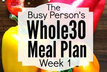 Paleo/Whole 30 Recipes / by Stephen-Christine Gleeson