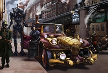 Steampunk references