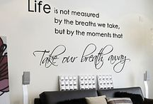 Wall stickers / Ideer til mit nye hjem