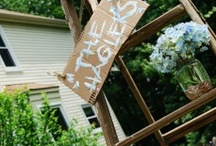 Southern At-Home Wedding Reception