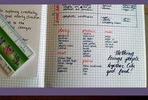 Bullet Journal -Meal Planning