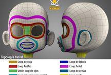 HUMAN TOPOLOGY / constuccion topológica de un modelo en 3d