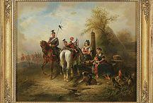 Paintings 19th century / Gemälde des 19. Jahrhunderts