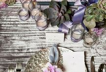 Table settings / by Kathy Shifflet