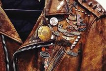 // Leather Jkt / Stff