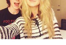 Chana / The cutest couple on the internet, chandler and Hana!