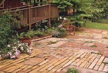Landscaping the backyard / by Mallory Gray
