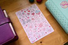 Papirya Stickers