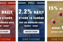 Business Plans From Onefxzone.com / It has 2 business plans  1.Basic -2%  daily (you can invest from $25 to $10999)  For 90 working days (Monday to Friday) 2.Pro   - 2.2% daily (you can invest from $11000 to $50000)  For 100 working days (Monday to Friday)