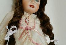 Moje oblíbené panenky/My favourite dolls / Porcelánové a vinylové panenky. Porcelain and vinyl dolls.