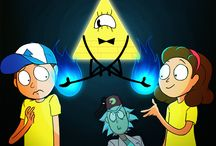 Rick and Morty/Gravity Falls!! ✌✌❤❤✌✌♥♥♕♔✌✌♥♥♥♥❤❤❤❤❤❤♥✌✌♔♕❤