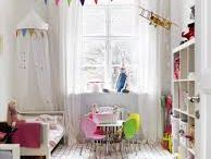 Home: Girlie Bedroom Ideas / Rainbow Room with hearts, flowers and lots of pink.