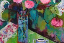 τέχνη με λουλουδια