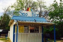 Sno Cone Stand