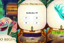 abcteach- Math Magician App / The Math Magician is a fun and interactive way to practice your math skills. Help the Magician regain his treasures, one by one. Are you up to the challenge? #math #app