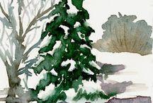 Favorite Watercolor Paintings