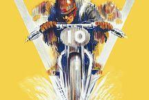 Racing posters