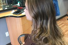 Balayage / Balayage Technique is use to give the hair a soft look. Can be bold with color or soft to create dimension.