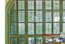 Window shutters/Ставни