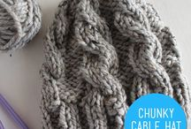 Cables Galore / Examples of knitted cables and Celtic inspired knits