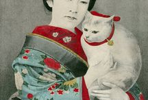 Cats in 19th Century Art / Art featuring cats from c. 1800-1899