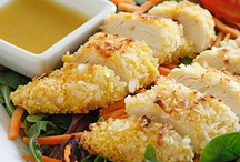 Recipes: Chicken/Turkey / I love chicken because it is very lean and easy to cook so many different ways! Chicken and Turkey recipes loaded with protein.  / by Get Healthy U   Chris Freytag