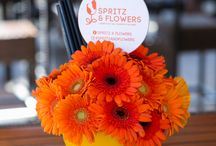 Spritz & Flowers / A colourful event where different gerbera creations have been designed and presented