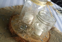 DIY center pieces ~ / by Lovelady ❤️
