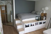 Bed and smart storage