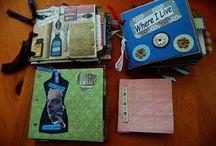 Scrapbook mini albums / by Pam Shea