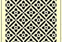 Stencil/Stamp motifs