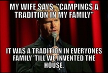 Camping is oh so fun!