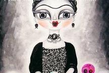 Frida Kahlo / by Valeria Marinheiro