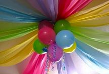 Party celebration decor ideas / by Chasity Gray